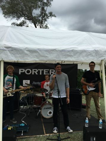 Student band Going Postal puts live music ahead of online following