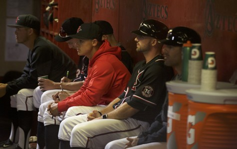 Young SDSU baseball team struggles through spring break road trips