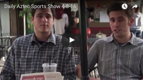VIDEO: The Daily Aztec Sports Talk 4/8/2016