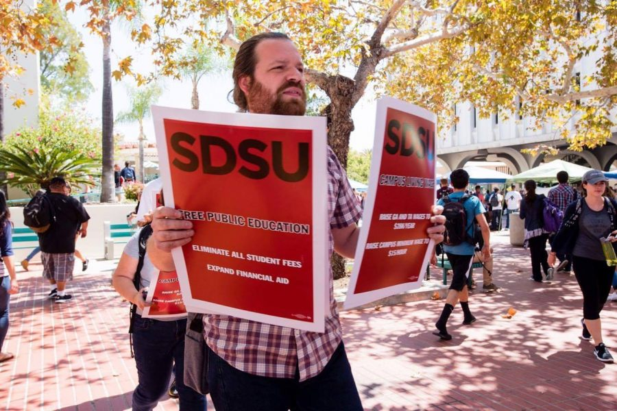 Graduate students demand higher wages