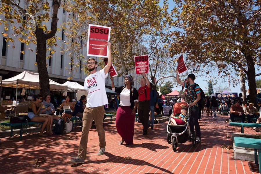 SDSU+Graduate+students+reject+wage+increase+from+California+State+University