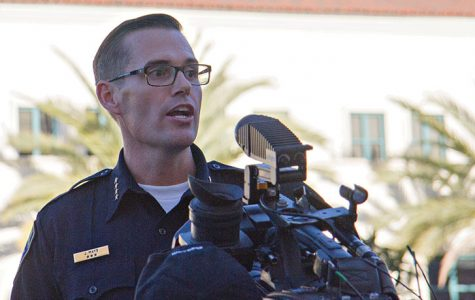 Protest sends message to SDSU campus cops