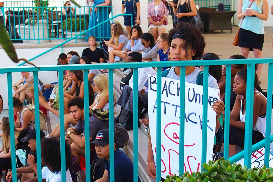 San+Diego+State+students+demand+change+from+campus+police