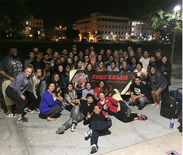 Salsa Club dances through campus