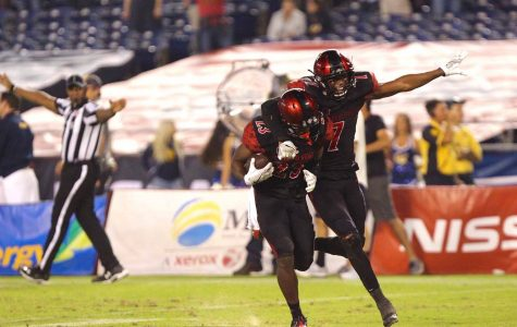SDSU opens MW play with a dominating win over UNLV, 26-7