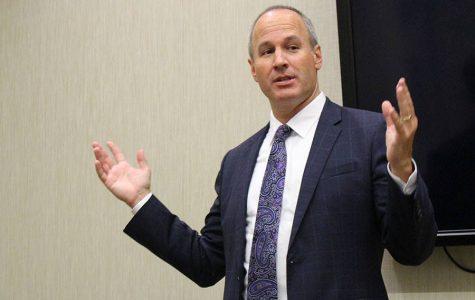 San Diego City Attorney candidate speaks at SDSU