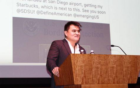Periodista indocumentado en SDSU