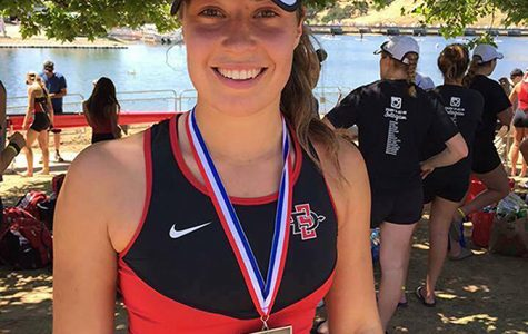 International student shines in SDSU athletics