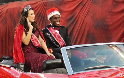 Lemker and Ogbeide crowned homecoming royals
