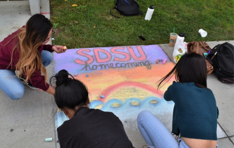 San Diego State students celebrate homecoming