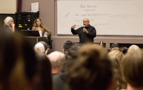 Campus community holds post-election talk