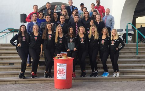Aztecs Rock Hunger beats record