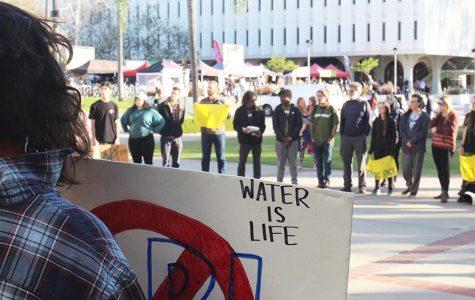 SDSU students protest Dakota Access Pipeline
