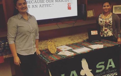 Native American Student Alliance proposes removal of Aztec mascot