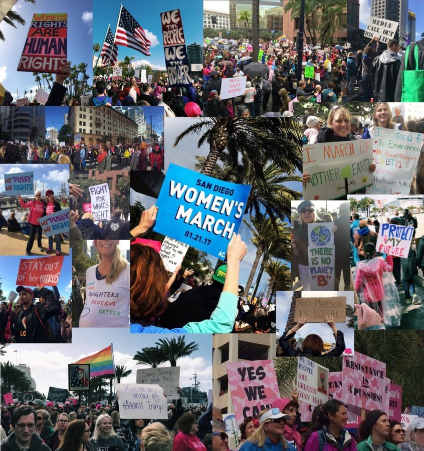 Marchers+at+the+San+Diego+Women%27s+March%2C+Jan.+21%2C+2017.
