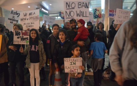 Immigration ban sparks protests