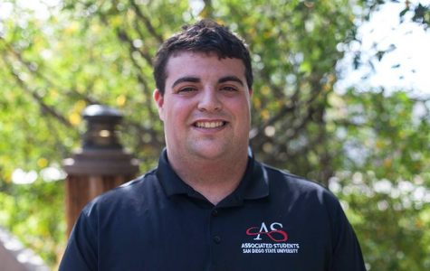 Associated Students Presidential candidate Ben Delbick