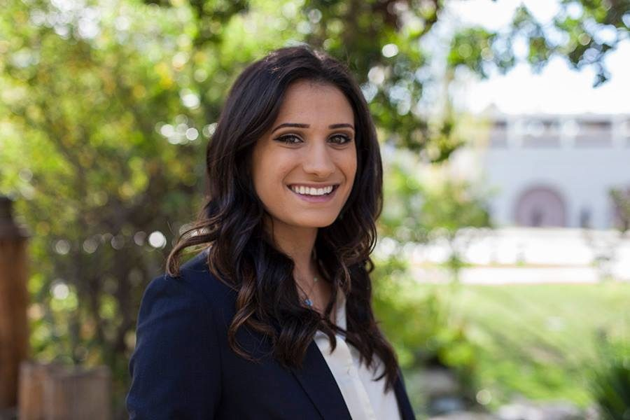 Associated Students Vice President of External Relations candidate Carmel Alon