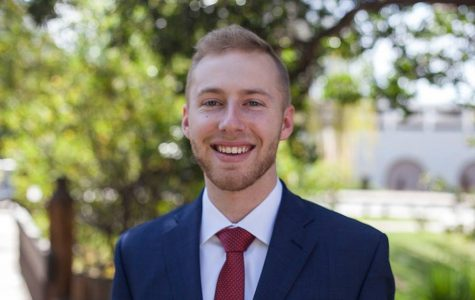 Associated Students Vice President of Financial Affairs candidate Hayden Willis