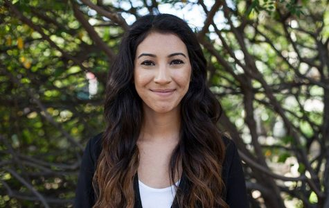 Associated Students Vice President of External Relations candidate Samantha Ledesma