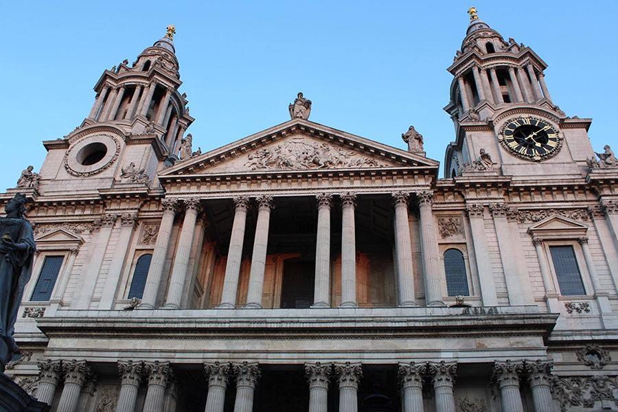 La Catedral de San Paul.