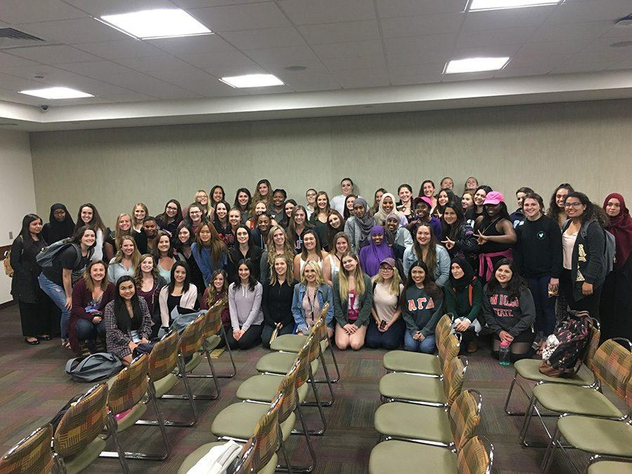 MSA hosts 'Happy in a Hijab' event