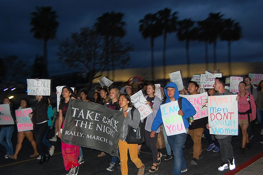 March addresses campus sexual violence