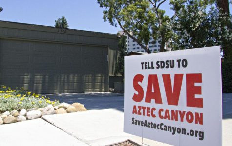Rift develops between SDSU, residents over canyon construction