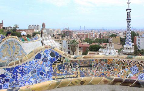 Estudiantes reaccionan al ataque terrorista de Barcelona, España