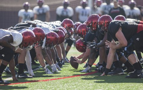 Football depth chart filled with freshmen