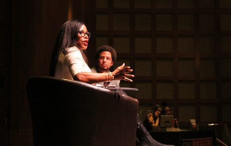 Daughter of Malcolm X gives talk at SDSU
