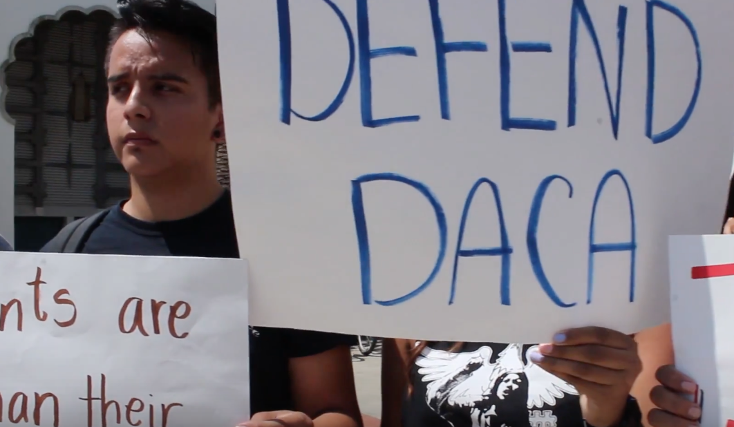 Students protest Trump's DACA decision at SDSU
