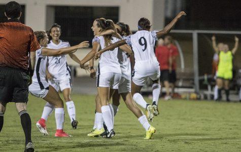 Women's soccer scores upset win over No. 22 Nebraska
