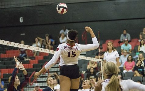 Volleyball found hidden gem in Deja Harris
