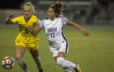 Utush scores twice, leads SDSU to 2-1 win vs Wyoming