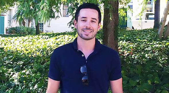 SDSU psychology professor Aaron Blashill.