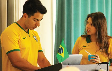 Brazilian SDSU students share their culture at International Coffee Hour