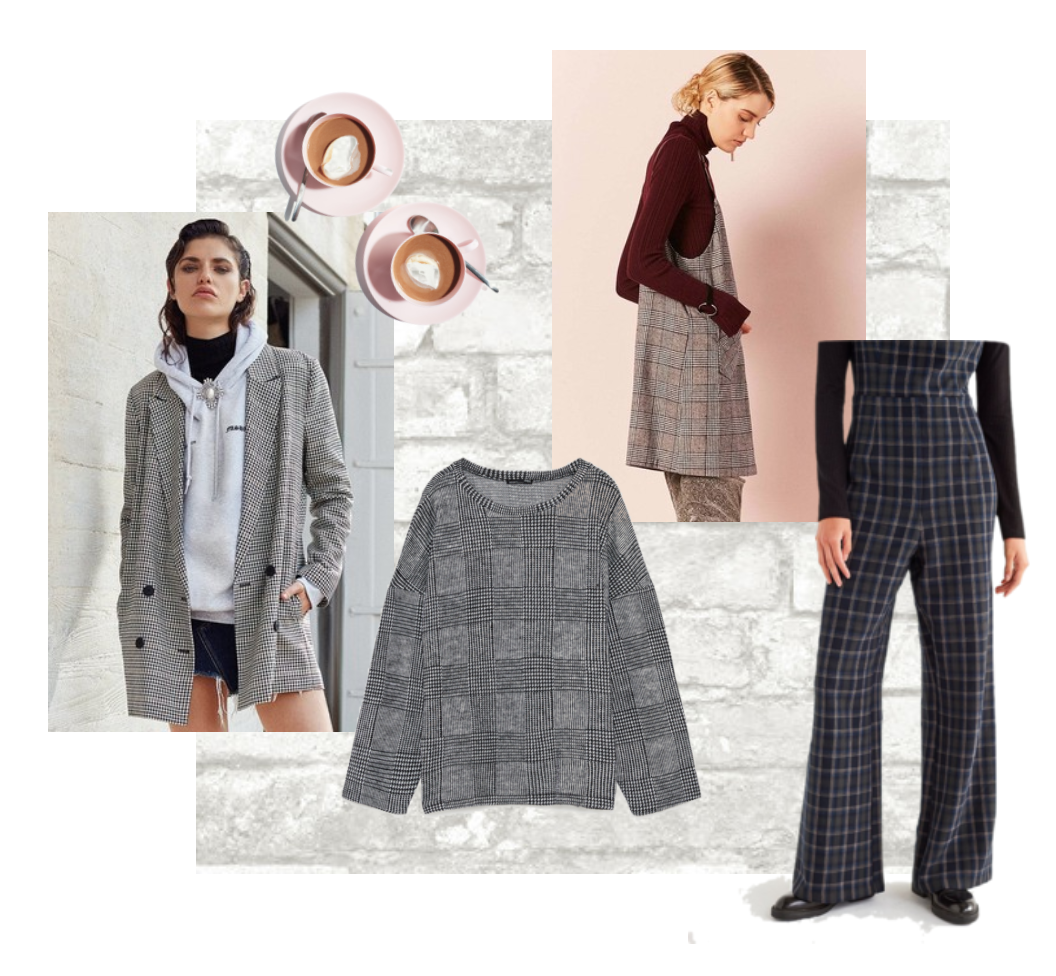 The plaid fad has taken a popular stance in this fall's fashion game.