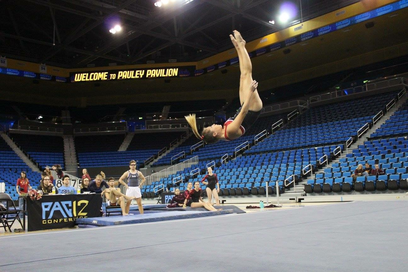 Marketing junior Nathalie Rojas competed in a meet held at UCLA last year.