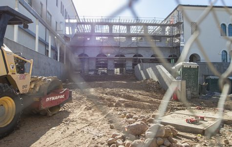 Construction continues on campus