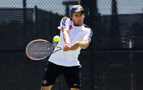From Mexico to SDSU: Senior tennis player leads team