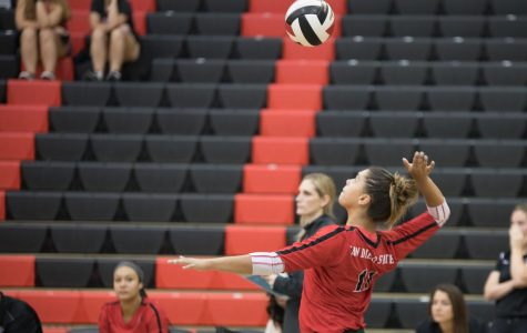 Volleyball drops final match of season to Colorado State