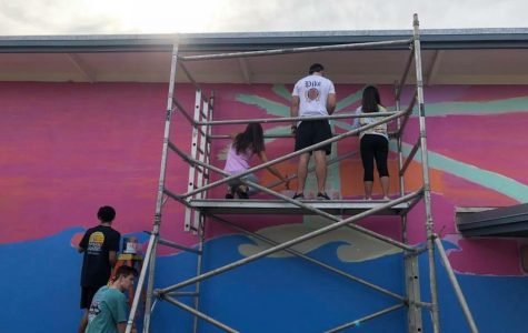 PIKE and Delta Gamma team up for artistic community service