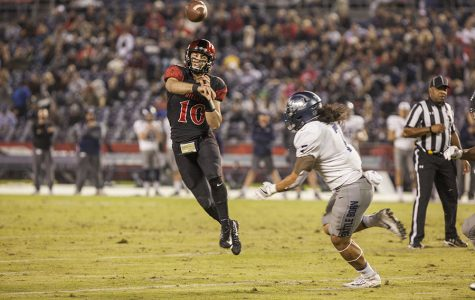 Column: Chapman must make better decisions under center for Aztecs