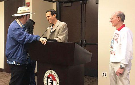 Seth Mallios conmemora los 120 años de SDSU a través de plática