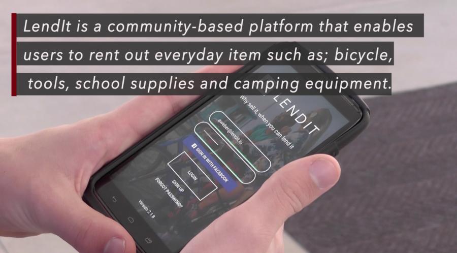 SDSU student creates item-renting app