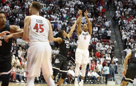 Aztecs earn marquee win over No. 12 Gonzaga, 72-70