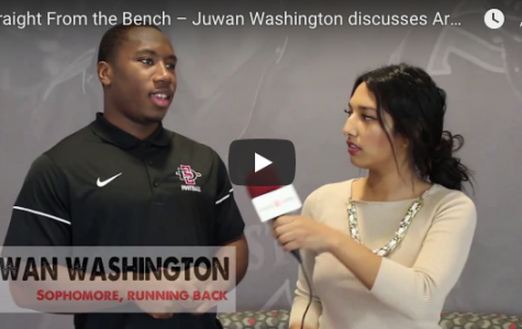 Straight From the Bench – Juwan Washington talks Armed Forces Bowl