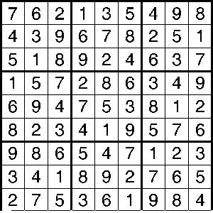 Sudoko Solution 1-24-18