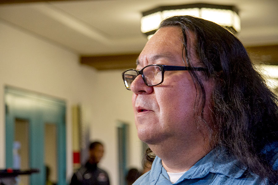 American Indian Studies Lecturer Oscar